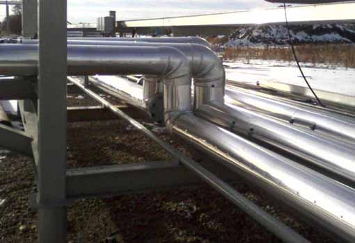 Insulating & Metal Clad Piping